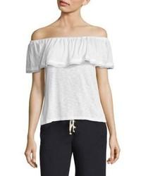 f41437d8d33 Women's White Off Shoulder Tops by Splendid   Women's Fashion ...