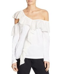 Clu Ruffled Off The Shoulder Top