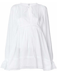 Dolce & Gabbana Flared Peasant Blouse