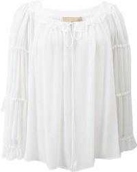 Michl kors peasant blouse medium 227134