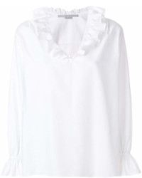 Stella McCartney Ruffle Neck Blouse