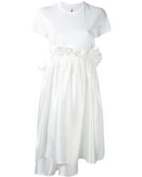 Comme des Garcons Comme Des Garons Noir Kei Ninomiya Ruffle Waist T Shirt Dress