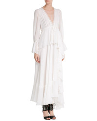 Emilio Pucci Flowing Silk Maxi Dress
