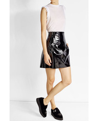 Dsquared2 Sleeveless Cotton Top With Ruffles