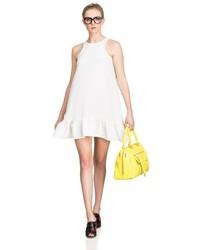 Cynthia Rowley Sleeveless Exaggerated Flounce Dress