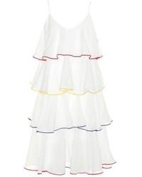 Imaan tier flounce cotton dress medium 6438719