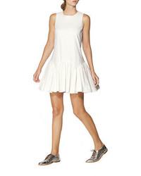 Cynthia Rowley Textured Ruffle Hem Dress