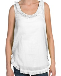 Dylan Whisper Ruffle Tank Top