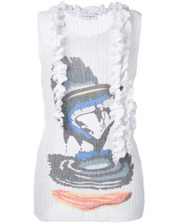 J.W.Anderson Jw Anderson Ruffled Printed Tank