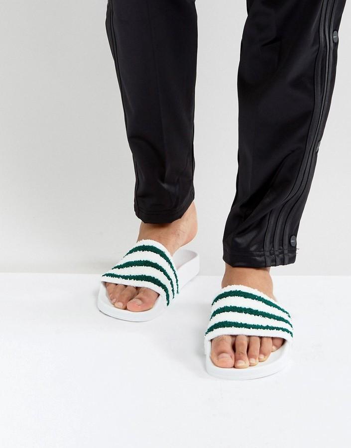 f9bc9989213ff $31, adidas Originals Adilette Slides In White Bb0124