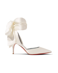 Christian Louboutin Toubinana 80 Satin Pumps