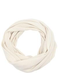 Wyatt Candy Pink Rib Knit Cashmere Infinity Scarf