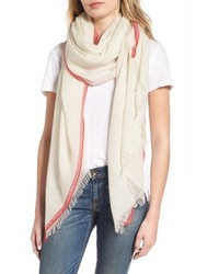 Rag & Bone Selvedge Edge Merino Wool Scarf