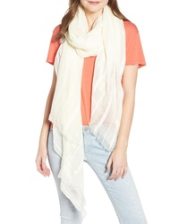 Treasure & Bond Solid Ribbed Wrap Scarf