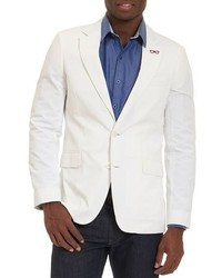Robert Graham Castroville Seersucker Sport Coat White