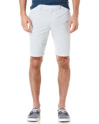 Original Penguin Slim Fit Seersucker Stripe Shorts