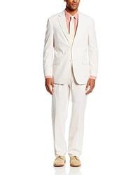White Seersucker Suit