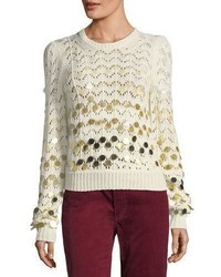 Marc Jacobs Dgrad Paillette Sweater