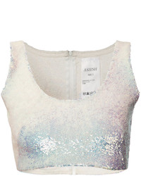 Ashish Sequin Crop Top