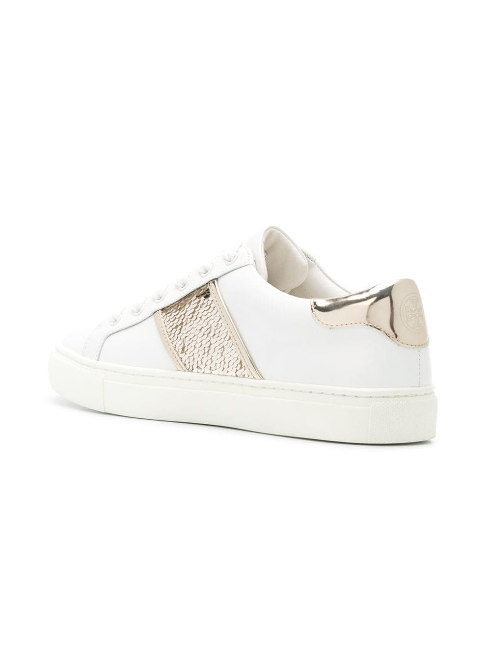7142dc8ab53 Tory Burch Carter Sequin Sneakers