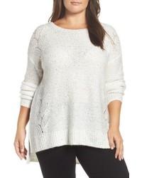 NYDJ Plus Size Sequin Sweater