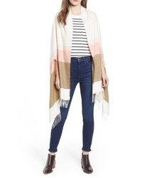 Madewell D Stripe Cape Scarf