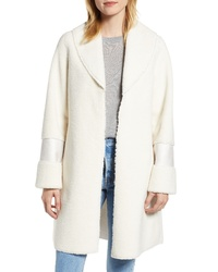 Halogen Faux Shearling Coat
