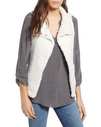 Dylan Frosty Faux Shearling Vest