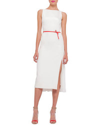 Women S White Sheath Dress Silver Snake Leather Pumps