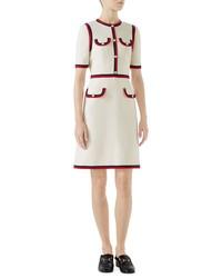 Gucci Crepe A Line Dress