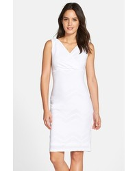 Andrew Marc Marc New York By Chevron Stretch Sheath Dress