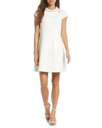 Harper Rose Stand Collar A Line Dress