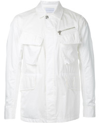 White Shirt Jacket
