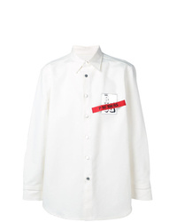 Raf Simons Logo Shirt Jacket
