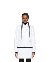 Sportmax White Rolle Shirt Jacket