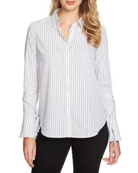 1 STATE 1state Tie Sleeve Shirt