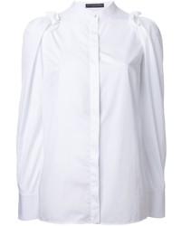 Alexander McQueen Ruffled Sleeve Shirt