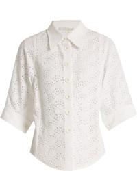 Chloé Chlo Broderie Anglaise Shirt