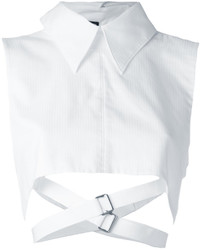 Ann Demeulemeester Cropped Strap Shirt