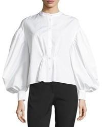 Burberry Lillium Voluminous Sleeve Shirt