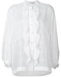 Ermanno Scervino Pleated Trim Shirt