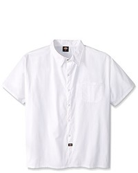 Dickies Plus Size Snap Button Cook Shirt
