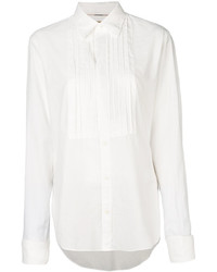 Burberry Ribbed Panel Shirt