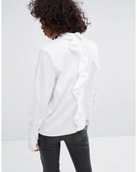 Noisy May Ruffle Back Shirt