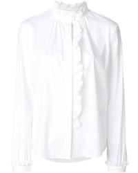 RED Valentino Ruffle Collar Shirt