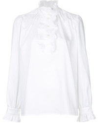 Stella McCartney Ruffle Trimmed Meredith Shirt