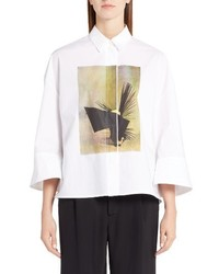Marni Ruth Coated Poplin Shirt