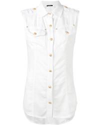 Balmain Sleeveless Shirt