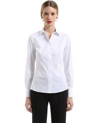 Dolce & Gabbana Stretch Cotton Poplin Shirt