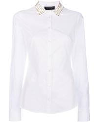 Twin-Set Studded Collar Shirt